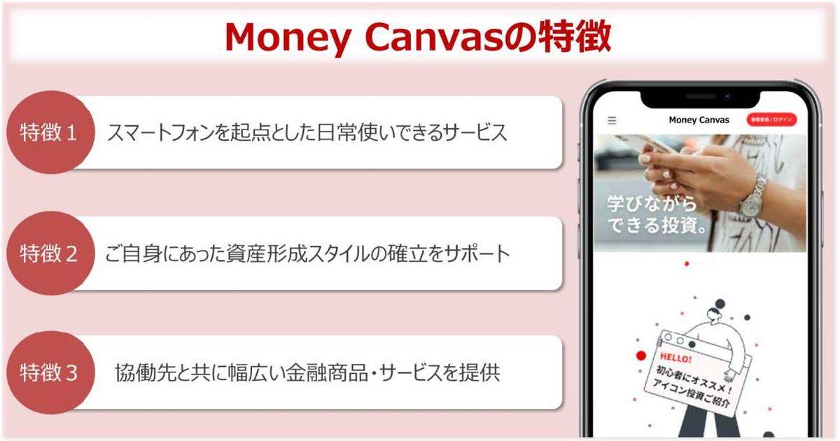 三菱UFJ銀行、資産形成総合サポートサービス「Money Canvas」の提供を開始